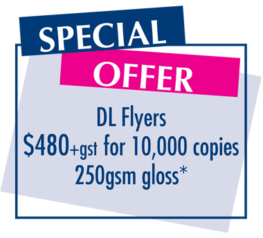 Special Offer - DL Flyers $480 for 10000